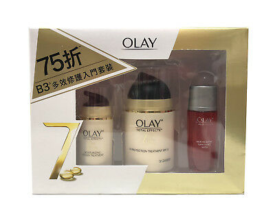 AU42.99 • Buy Olay Total Effects 7-in-1 UV Protection 50ml + Essence 18ml + Moisturizing 14g