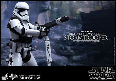 $149.99 • Buy Hot Toys Star Wars Force Awakens First Order Heavy Gunner Stormtrooper In Stock