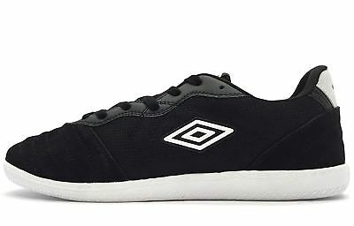 e14afa2c328 Umbro Men s El REEY Black Black UML1001TX Indoor Soccer Shoes • 49.50