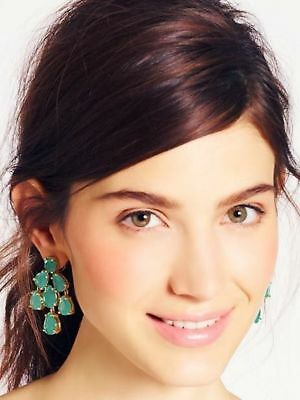$ CDN86.75 • Buy Kate Spade Ny Aqua Water Translucent Ocean Green Chandelier Drop Earrings