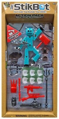 Stikbot Action Pack Series 2 Weapon Pack [Blue] • 17.63£