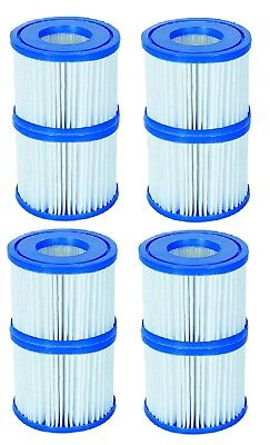 8 Pack Filter Cartridge Lay Z Lazy Hot Tub Spa Filters For All Lay Z Spas ONLY • 24.99£