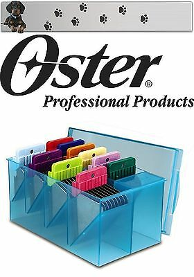 £55.86 • Buy Moser Max 45 1245 Oster Stainless Steel Attachement Comb Set 10 Pack 1,6 MM - 50