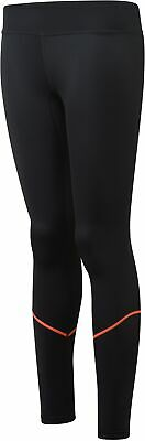 More Mile Womens Compression Rapid Recovery Long Running Tights Black • 12.99£