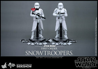 $ CDN516.43 • Buy Star Wars The Force Awakens 12 Inch MMS First Order Snowtroopers Hot Toys