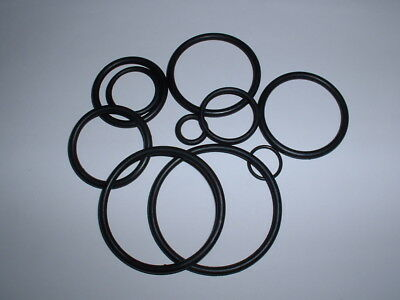 4 Pack Of Metric Nbr Rubber O Ring Seals 3mm To 100mm I.d. Choose Size Water Oil • 2.19£