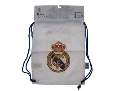 £25.05 • Buy Backpack Real Madrid Official Backpack Blancos Madrid White Flat White
