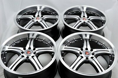 $380.16 • Buy 17 Rims Wheels Vigor CL Tiburon Elantra Cobalt Galant Civic Accord 4x100 4x114.3