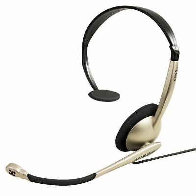 Koss CS95 Skype Chat Zoom Headset With Noise Cancellation Mic (3.5mm) Gold/Black • 24.92£
