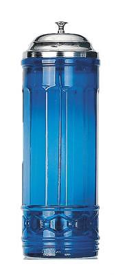 $29.75 • Buy Cobalt Blue Glass Straw Dispenser - Kitchenware - Great For Parties