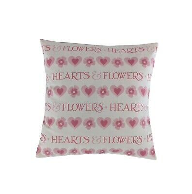 £9.99 • Buy Cushion Cover In Emma Bridgewater Pink Love Hearts And Flowers 16