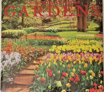 $5.99 • Buy 2019 Wall Calendar - Gardens -16 Month-12x22 Inches