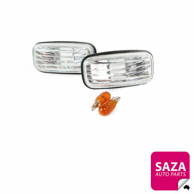 AU28.22 • Buy Pair Of Performance Clear Guard Repeater Lights For Nissan Pulsar N15/N16 95-06