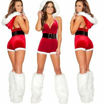 8a17d1107327 Ladies Mrs Santa Claus Outfit Xmas Sexy Costume Adults Christmas Fancy  Shorts • 15.29$