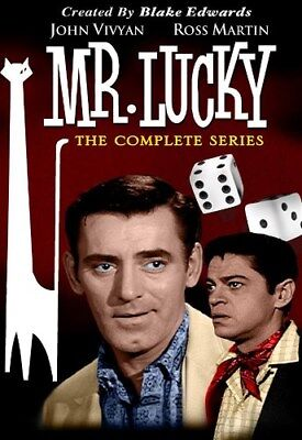 $27.98 • Buy MR LUCKY THE COMPLETE SERIES New Sealed 4 DVD Set Blake Edwards