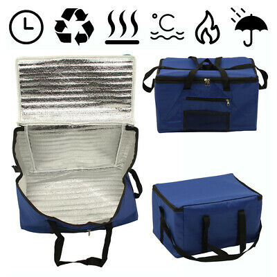 £7.89 • Buy 26l Extra Large Cooling Cooler Cool Bag Box Picnic Camping Food Ice Drink Lunch