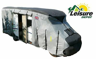 Leisure Depot 4 Ply Waterproof Breathable Premium Motorhome Cover Up To 5.7M • 111.50£