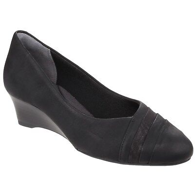 Rockport Total Motion Cerelia Calanthe Pumps Womens Wedge Heeled Ladies Shoes • 69.95£