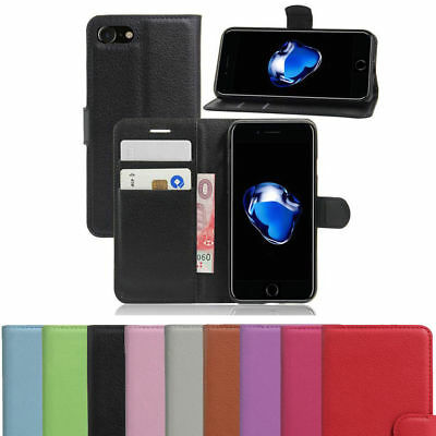 Case For Phone 6 7 8 5s Se Plus XS Max Flip Wallet Leather Cover Magnetic Luxury • 3.75£