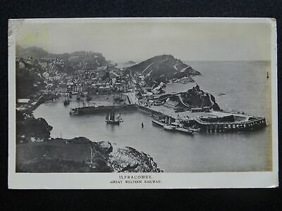 G.W.R. Official Great Western Railway ILFRACOMBE C1912 RP Postcard • 9£