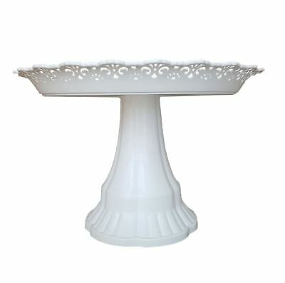£6.79 • Buy White Decorative Plastic Cupcakes Stand Cake Pastry Serving Platter Party Home