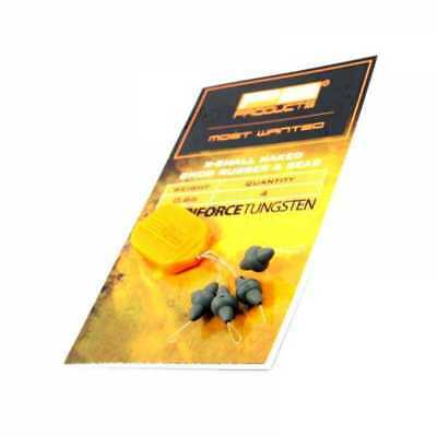 PB Products Downforce Tungsten X-Small Naked Chod Rubber & Bead NEW • 5.99£