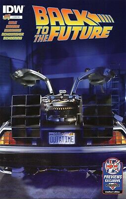 Back To The Future #1 (NM)`15  Various (Previews Exclusive) • 11.99£