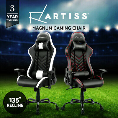 AU199.95 • Buy Artiss Gaming Office Chair Computer Chairs Racing Recliner Executive Racer Seat