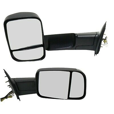 $250.35 • Buy Tow Mirror Set For 2002 09 Dodge Ram 1500 Left & Right Side Puddle Signal Light