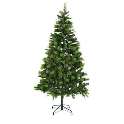 Home Berry And Cone Green Christmas Tree - 7ft • 24.99£