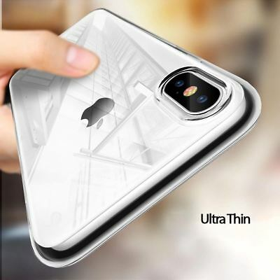 $ CDN5.24 • Buy New - Transparent Back Soft Clear Phone Case Cover - Apple X XS XR XS MAX