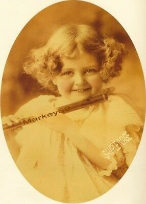 $10 • Buy M B Parkinson Cupid  Girl Print With Flute Josephine Anderson