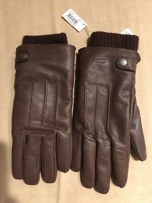 $85 • Buy Gloves Coach Mens Premium Luxury Goat Leather 3-in-1 Gloves, Size S. $195