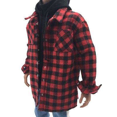 £9.31 • Buy 1/6 Scale Male Plaid Shirt Clothes Men Clothing For 12  Action Figure Body