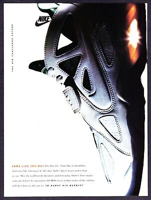 £4.82 • Buy 1993 NIKE Air Challenge Future Andre Agassi Wears Shoe Photo Vintage Print Ad