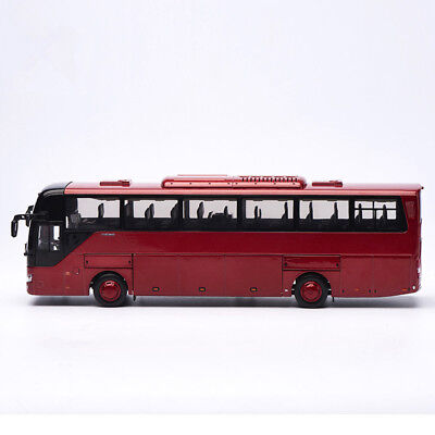 $ CDN117.06 • Buy DieCast Toy Model Gift 1:42 Yutong ZK6122H9 Double-decker Transit Bus Vehicles