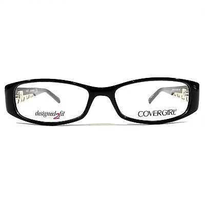 ceede1c59e New COVERGIRL Women s Optical Eyeglasses RX Frame CG0821 001 Black  53-15-135 •