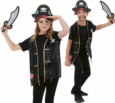 £7.99 • Buy Instant Pirate Kit Childrens World Book Day Fancy Dress Costume Pirates Outfit