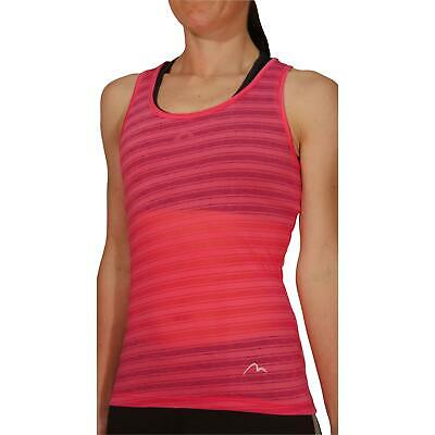 £7.99 • Buy More Mile Breathe Womens Training Vest Pink Ultra Lightweight Seamless Tank Top