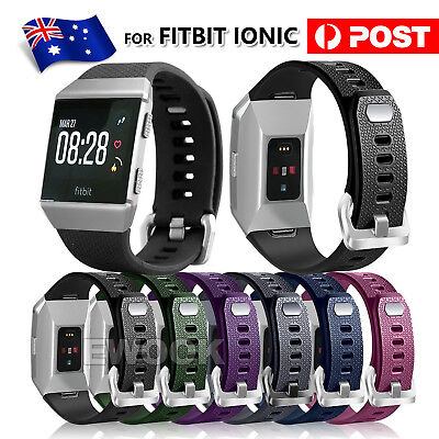 AU6.45 • Buy For Fitbit Ionic Smart Watch Band Strap Soft Replacement Bracelet Wrist Band