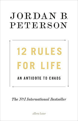 AU36.82 • Buy 12 Rules For Life An Antidote To Chaos By Jordan B. Peterson - Hardback