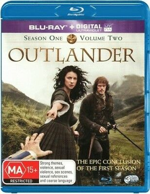 AU18.25 • Buy Outlander: Season 1 - Volume 2 (Blu-ray/UV) = NEW Blu-Ray Region B