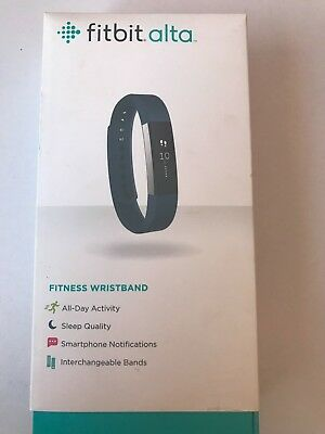 AU75 • Buy Fitbit Alta Fitness WristBand Stainless Steel Tracker Blue Band