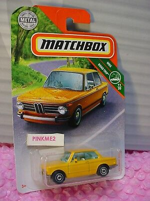 $2.99 • Buy 2019 MATCHBOX #7 '69 BMW 2002☆yellow-orange;disc☆MBX ROAD TRIP 11/20☆