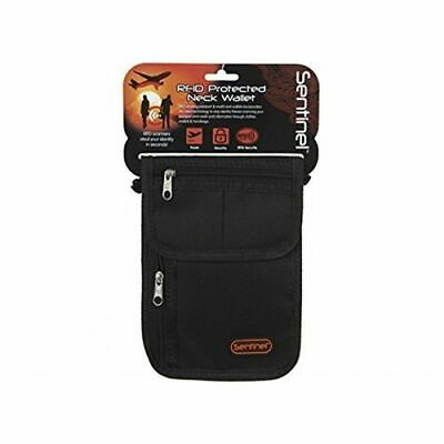 £6.95 • Buy Sentinel Body Wallet Money RFID Protected Travel Pouch With Neck Cord Security