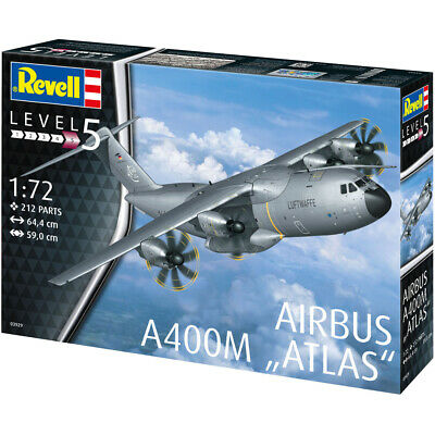 Revell 03929 Airbus A400M  ATLAS  Military Plane Model Kit - Scale 1:72 • 47.99£