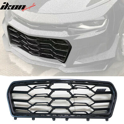 $137.99 • Buy Fits 16-19 Chevy Camaro ZL1 1LE Style Front Bumper Lower Grille - PP