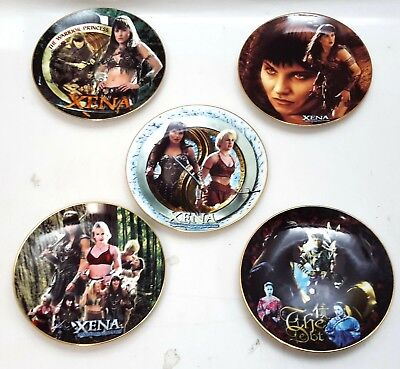 Limited Ed XENA Warrior Princess Ceramic Plate Collection- Your Choice Or Set • 110.13£