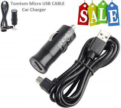 MICRO USB Data Cable For GO VIA LIVE START XL ONE SERIES TomTom In Car Charger • 6.79£