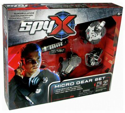Spy X Micro Spy Gear Encourages Kids To Explore Their Surroundings And Set NEW • 36.99£